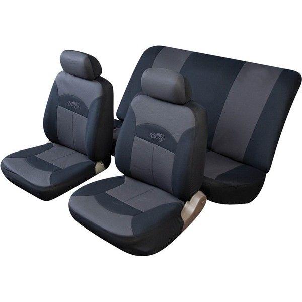 Car Seat Cover Celcius Set Blackgrey