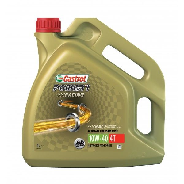 Power 1 Racing 4T 4 Stroke 10W40 Fully Synthetic 4 Litre