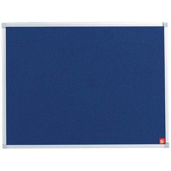 Noticeboard With Fixings Blue 900Mm X 600Mm