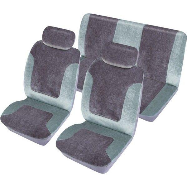 Car Seat Cover Heritage Set Grey