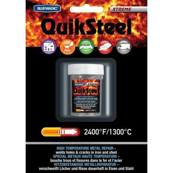 Extreme Temperature Steel Epoxy Putty 3Oz Pack