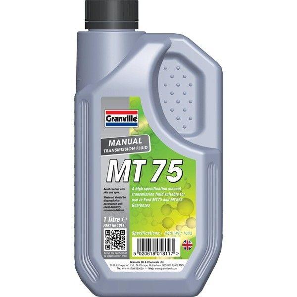 Mt 75 Manual Transmission Fluid 1 Litre