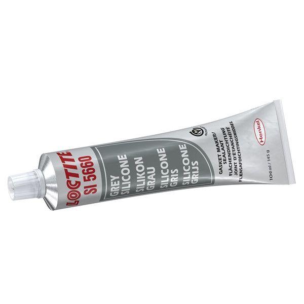 Si5660 Silicone Sealant Grey 100Ml