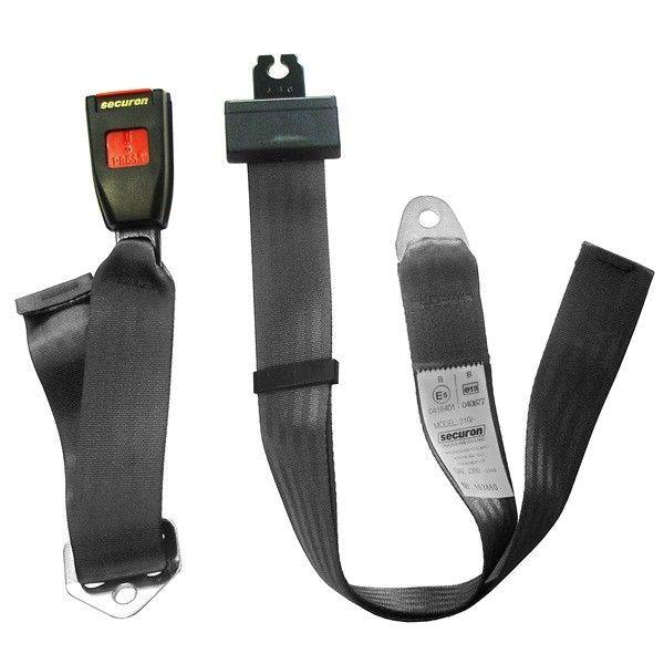 Seat Belt Static Lap Black