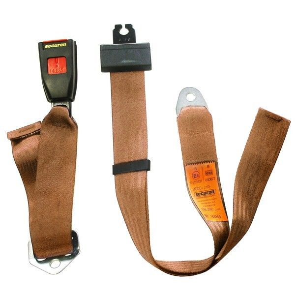 Seat Belt Static Lap Beige