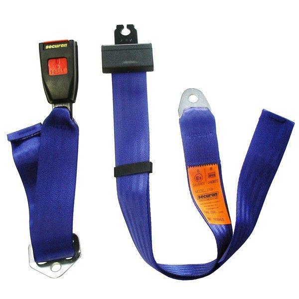 Seat Belt Static Lap Blue
