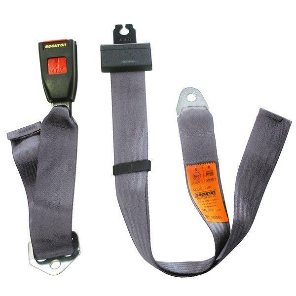 Seat Belt Static Lap Grey