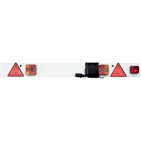Trailer Lighting Board Inc Fog 24V 6M Cable Plus Fog 4 6In.1.37M