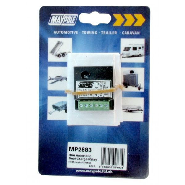 Automatic Dual Charge Relay 30A
