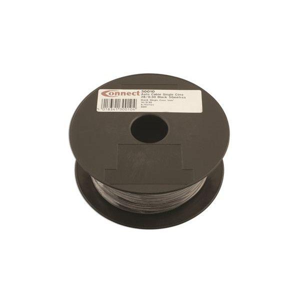 1 Core Cable 2Mm X 280.3Mm Black 50M