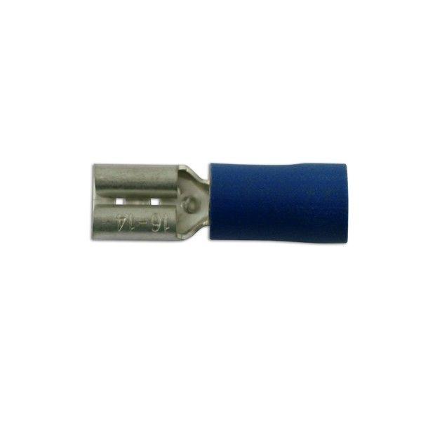 Wiring Connectors Blue Female Slideon 4.8Mm Pack Of 100