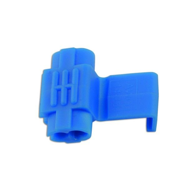 Wiring Connectors Blue Splice 0.75Mm2.5Mm Pack Of 100