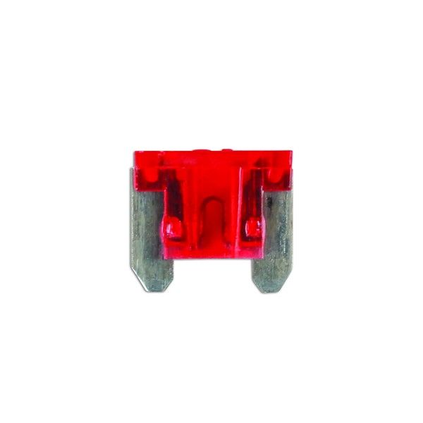 Fuses Auto Mini Blade Red 10A Pack Of 25