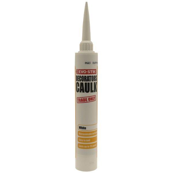Decorators Caulk White 380Ml