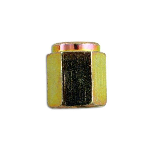 Steel Brake Nuts Female 10Mm X 1.0Mm Pack Of 50