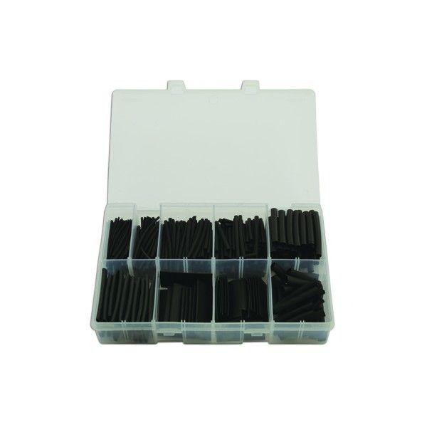 Heat Shrink Tubing Black 50Mm Assorted Box Qty 350