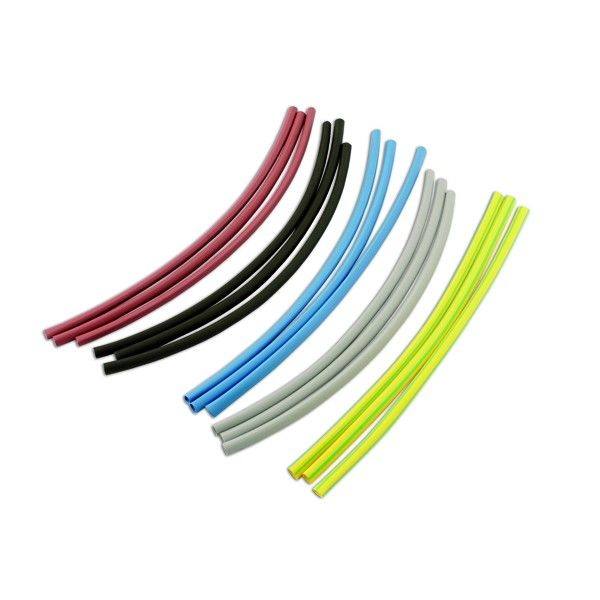 Heat Shrink Coloured Pack 6.4Mm X 250Mm 12 Piece