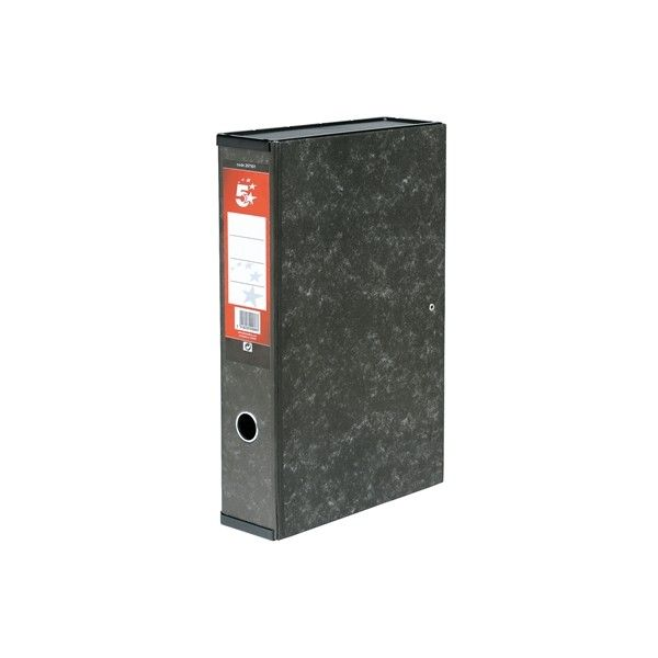 Foolscap Box File With Lock Spring And Ring Pull
