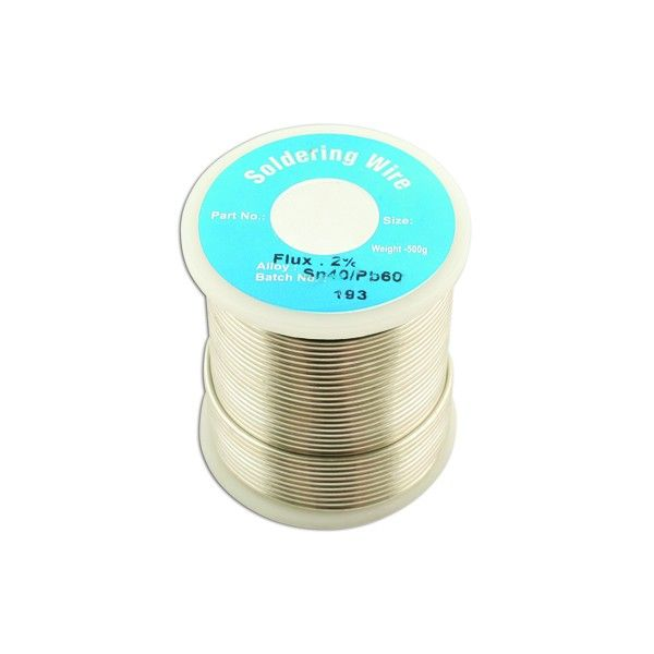 Solder Wire 18 Swg 1.2Mm 0.5Kg Reel