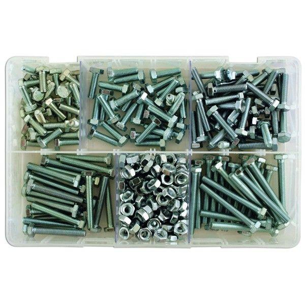 Set Screws Nuts M6 Assorted Box Qty 295