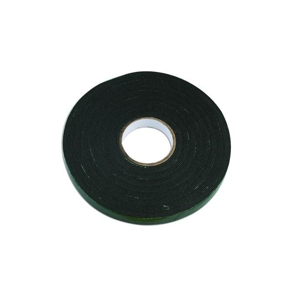 Double Sided Tape Olive Green 10M X 12Mm