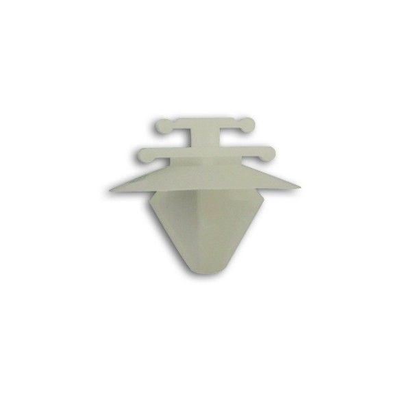 Moulding Clips White Peugeotrenault Pack Of 10