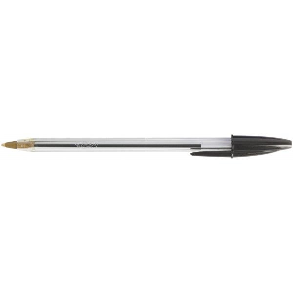 Cristal Ball Point Pens Black Pack Of 50