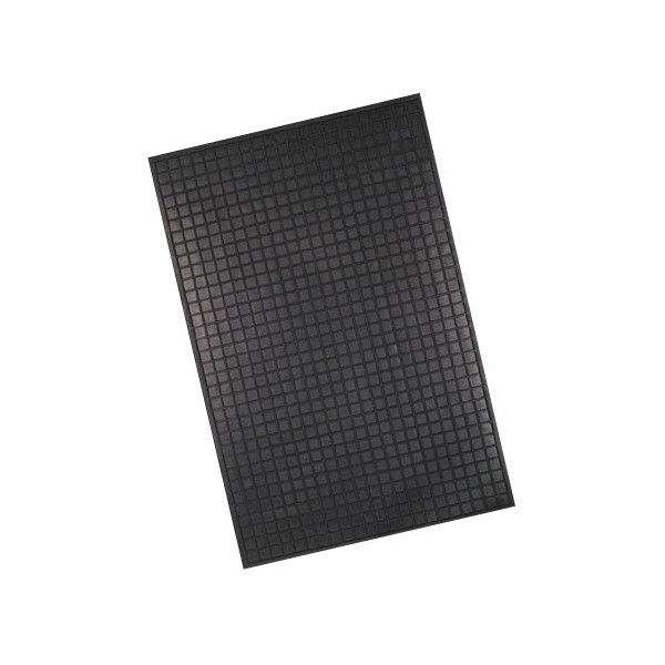 Large Ranger Mat Rubber Black Single
