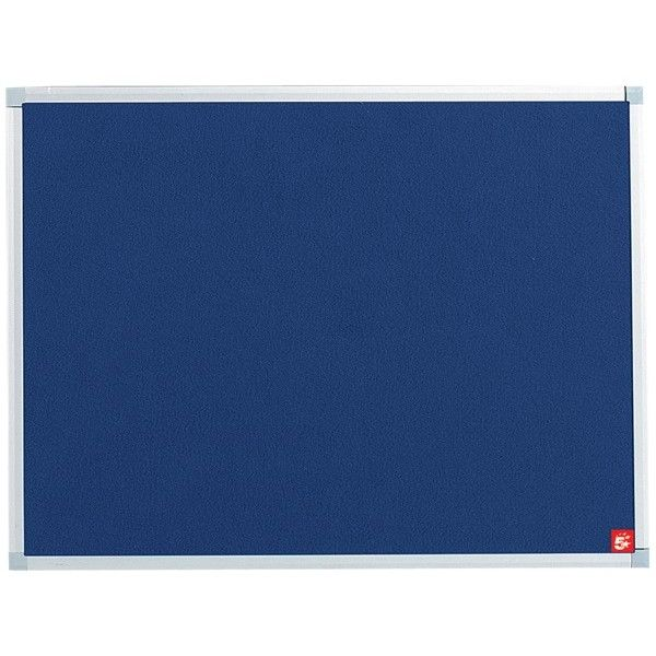 Noticeboard With Fixings Blue 1200Mm X 900Mm