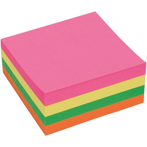 Remove Notes Cube Neon 75 X 75Mm 320 Sheets