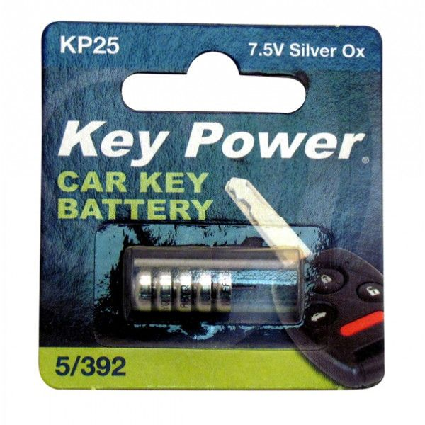 KEYPOWER Coin Cell Battery 5392  Silver Oxide 7.5V