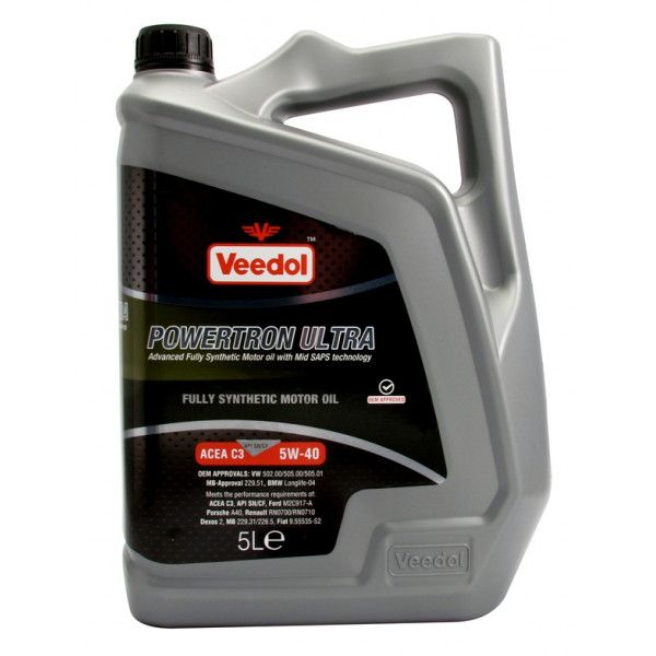 Powertron Ultra 5W40 Fully Synthetic 5 Litre