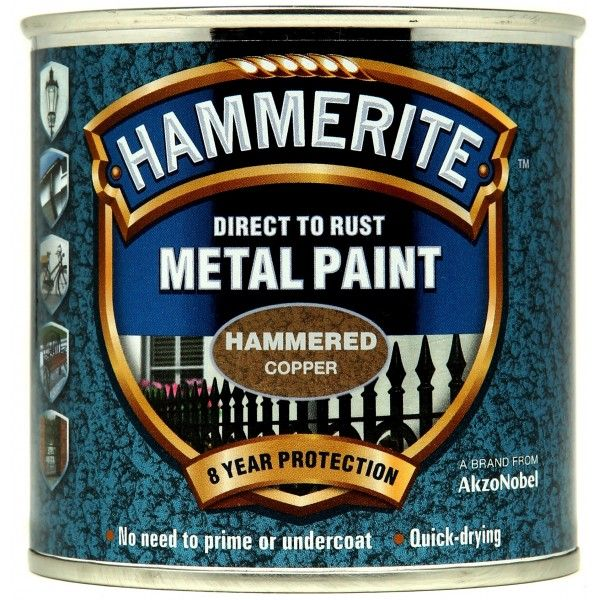 Direct To Rust Metal Paint Hammered Copper 250Ml