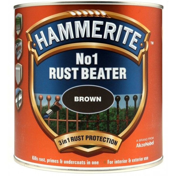 No.1 Rustbeater Dark Brown 2.5 Litre