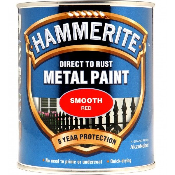 Direct To Rust Metal Paint Smooth Red 750Ml