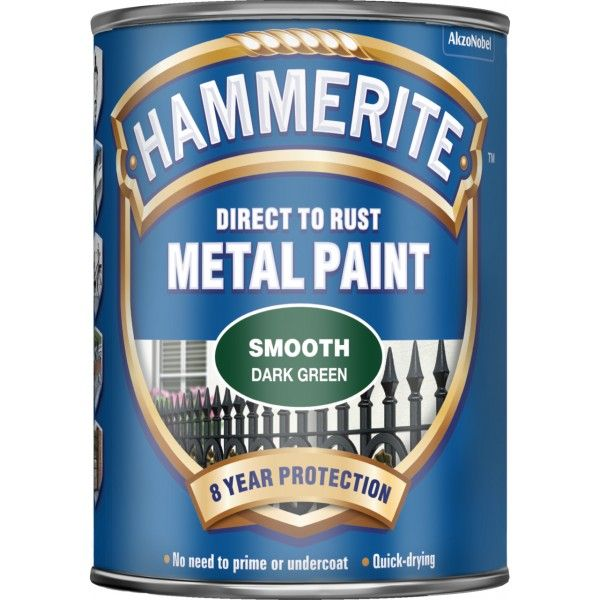 Direct To Rust Metal Paint Smooth Dark Green 750Ml