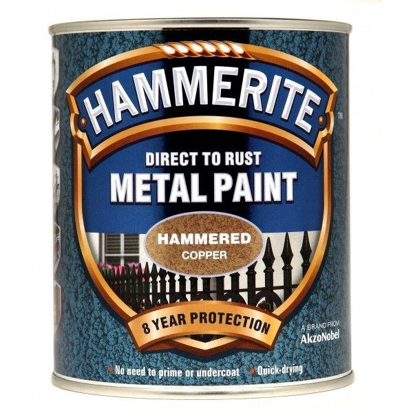 Direct To Rust Metal Paint Hammered Copper 750Ml