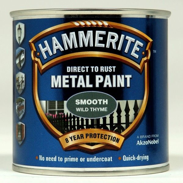 Direct To Rust Metal Paint Smooth Wild Thyme 250Ml