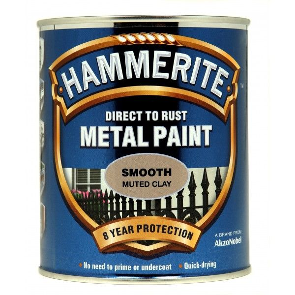 Direct To Rust Metal Paint Smooth Muted Clay 750Ml