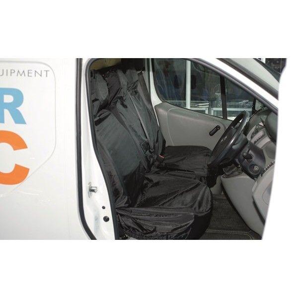 Van Seat Protector Set Black