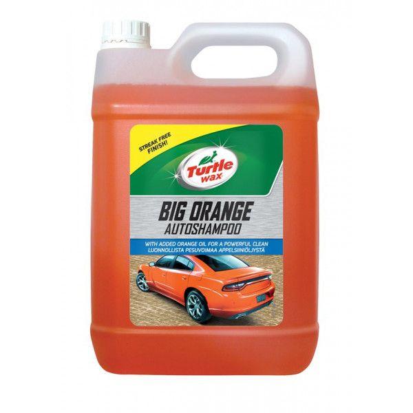 Big Orange Car Shampoo 5 Litre