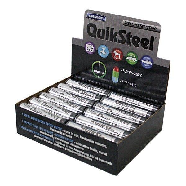 Steel Epoxy Putty 24 X 2Oz Stick Cardboard Cdu