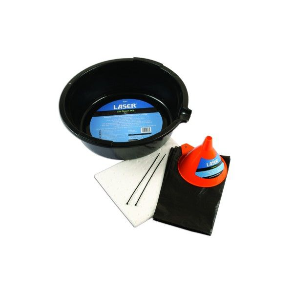 Oil Drain Pan Kit 6 Litre