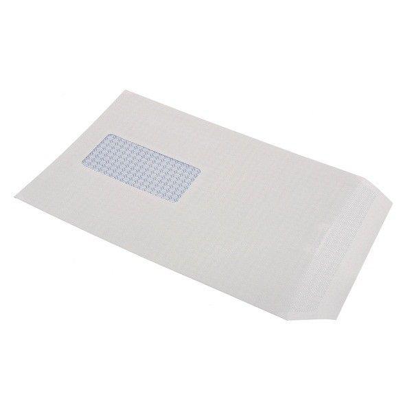 UNBRANDED C5 Envelopes  White  Window  Pack of 500