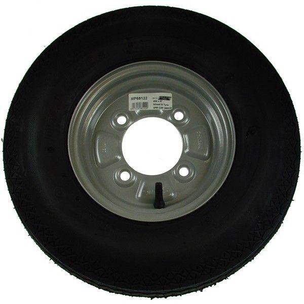 Trailer Wheel Tyre 400Mm X 8In.