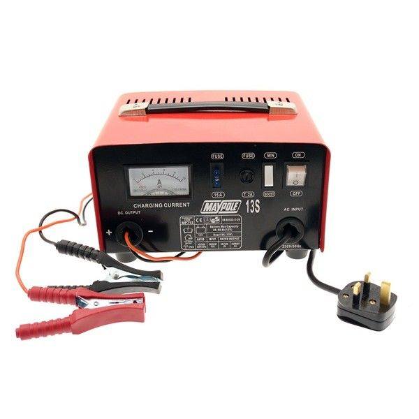 Metal Battery Charger 8A 12V