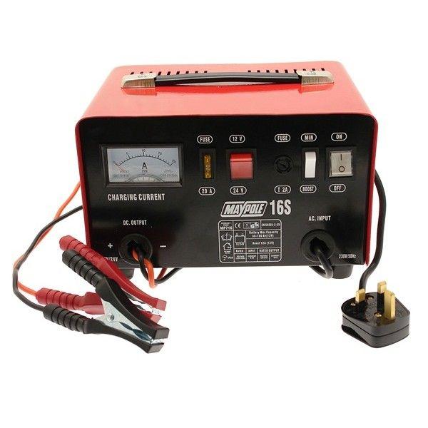 Metal Battery Charger 12A 12V24v
