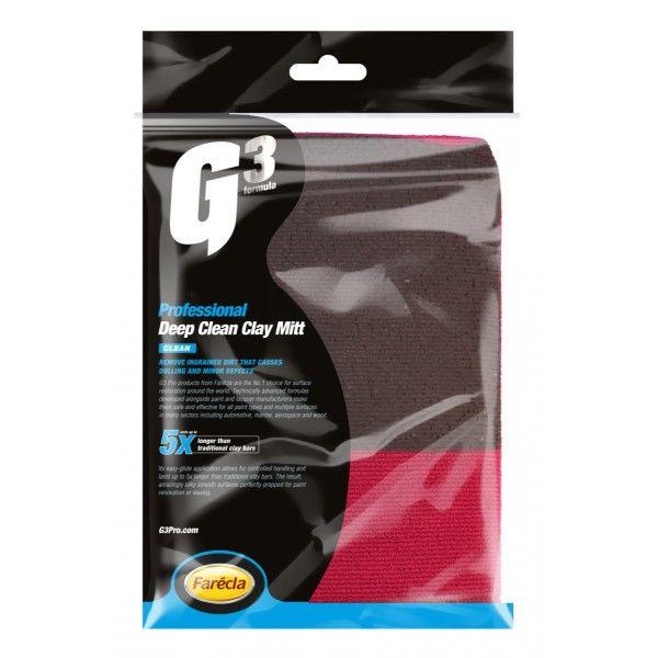 G3 Pro Deep Clean Clay Mitt Single