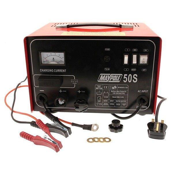 Metal Battery Charger 30A 12V24v
