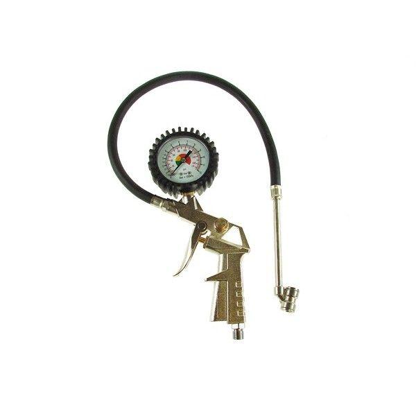 Tyre Pressure Gauge Gun With Tyre Chuck